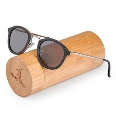 6491fadbcaf6 WoodWatchBox.com WOOD SUNGLASSES grey lens sunglasses Bobo Bird G28 Unisex Polarized  Retro Vintage Wood Sunglasses