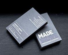MadeBrave Business Card