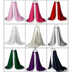 A: The wedding dress does not include any accessories such as gloves, wedding veil and the crinoline petticoat ( show on the pictures). Wedding Cape, Wedding Jacket, Bridal Cape, Blue Bridal, Diy Wedding, Wedding Ideas, Steampunk Boots, Cape Dress, Satin