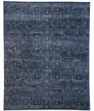 RugStudio presents Org Vintage Spl 775 Charcol gray Hand-Knotted, Good Quality Area Rug