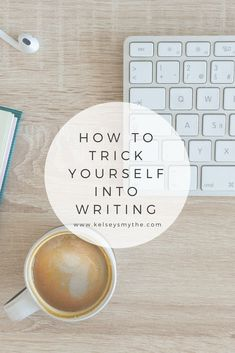 Writing is one of those activities that is really nice when it's finished, but feels somewhat agonizing during the process. Here are some tips for how to trick yourself into writing when you're not feeling up to it. #writing #write #writingtips