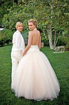 Same-sex star couples - Ellen & Portia