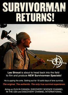 Les Stroud  » Survivorman Returns!