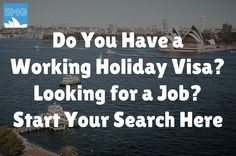 Working Holiday Visa Jobs Now Hiring