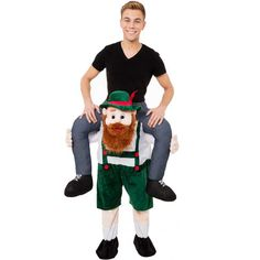 Piggy-Back-Shoulder-Carry-Me-Stag-Fancy-Dress-Costume-Mens-Party-Outfit-Ride-On