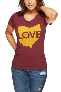 Image of Ohio Love - Hardcourt Mens & Womens Crew