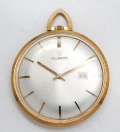 Vintage-1950s-60s-Helbros-Open-Face-Swiss-17J-Movement-Pocket-Watch
