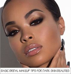 This is an useful article. Read it if you need to know about BASIC BRIDAL MAKEUP TIPS FOR DARK SKIN BEAUTIES. Applying makeup differs from one person to another, as different people have different skin tones and skin shades. Today Beauty On Location will
