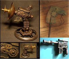 The French Side Of… Steampunk Crafts