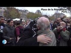 目隠しをしたイスラム教徒が「私はムスリムです」と紙に書いてパリの広場に立った結果……人々の反応が感動を呼ぶ! | ロケットニュース24