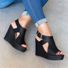 Orleans Wedge Sandals | Jane