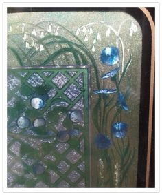 Virgo holorgam foil art print framed by VioletnDaisyVintage, $30.00