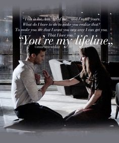 Hmm love is an act of total surrender sweetheart and one day I will see you surrender to our love and give yourself to me to live our love life and cherish our moments of this lifetime . Love you sooo much my Jaan 💋💋❤️ Fifty Shades Darker the movie 50 Shades Trilogy, Fifty Shades Series, Fifty Shades Movie, Fifty Shades Quotes, Shade Quotes, Jamie Dornan, 50 Shades Darker, Fifty Shades Of Grey, Christian Grey Quotes