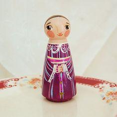 Blessed Zelie Martin Doll  Catholic Saint Toy  by SaintAnneStudio