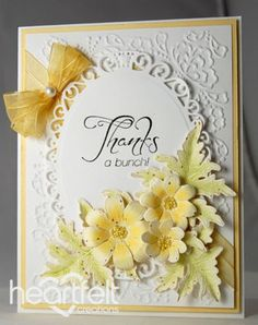 Heartfelt Creations | Yellow Daisy Thank You