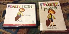 Frankly Frannie by AJ Stern~Audiobook CDs/Hardcover~Classroom/School