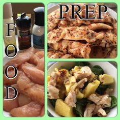 PIYO meal prep, meal planning, 21-day fix approved salad