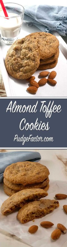 Crisp around the edges and soft in the middle, these cookies are teeming with…