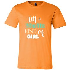I'm a Static Kind of Girl - Short Sleeve Unisex T-Shirt (Canvas Tee)