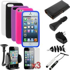 15 Accessories Kit for iPhone 5