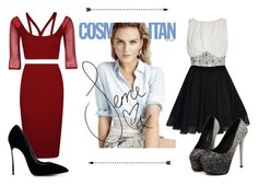 """""""Photoshoot with Perrie"""" by little-mix-fashionlover ❤ liked on Polyvore featuring Boohoo and Casadei"""