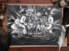 Intricate Graphite Drawings by Christina Mrozik & Zoe Keller