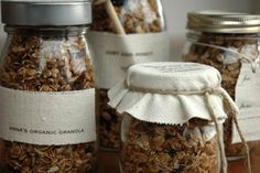 Pack in cute jars or bags with labels and give as a gift. | How To Make The Best Granola Ever