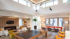 Unwind At The Sunnyvale Luxury Apartments Clubhouse Cool Rental