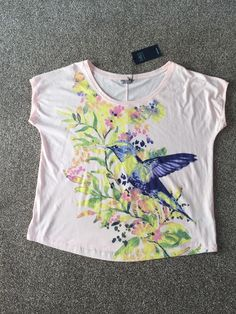 M&S Collection Cotton Rich UK22 EU50 BNWT Ladies T-Shirt/ Top  | eBay