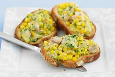 Tuna And Sweet Corn Melts Recipe