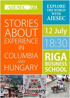 #AIESEC poster. Join us!