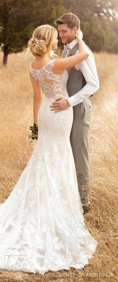 Wedding Dress by Essense of Australia Fall 2017