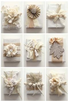 Wedding favors, beautiful wrapping!