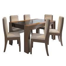 Juego de comedor 8 personas zoysia marca commodity mesa - Comedores altos modernos ...