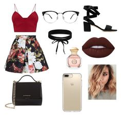 """""""Sin título #3"""" by yumary-v on Polyvore featuring moda, Tory Burch, Boohoo, Givenchy y Speck"""
