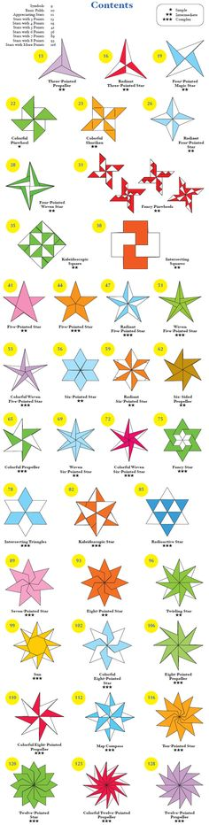 Welcome to Dover Publications Origami Stars