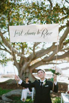 Too funny: http://www.stylemepretty.com/australia-weddings/new-south-wales-au/2015/03/06/romantic-fall-watsons-bay-wedding/   Photography: I Love Wednesdays - http://www.ilovewednesdays.com/