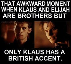 Psshh. Unfortuantely! Elijah would be even hotter in a brittish accent