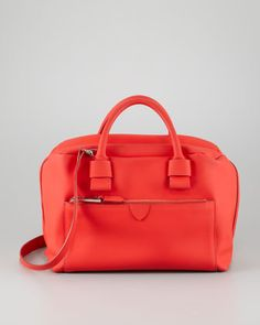 Antonia Small Satchel Bag, Red by Marc Jacobs at Neiman Marcus.