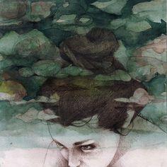 Clouds by elia-illustration.deviantart.com on @deviantART