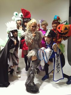 #HYDE with Dempagumi.inc #VAMPS #VAMPSHalloweenParty2015 MAKUHARI - Day 3 (October 25, 2015)