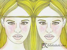 "Colección ""Imágenes Dobles"". #love #art #watercolor #paintings #illustration"