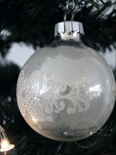 old christmas ornament