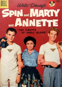 1957-09-Spin and Marty and Annette - Dell