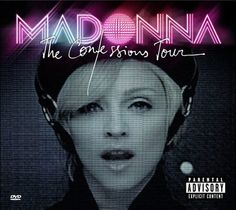 Madonna Confessions Tour DVD+CD Information
