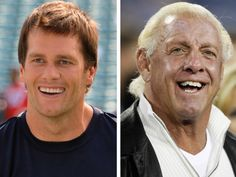 Tom Brady, Ric Flair become fast friends at Michigan signing day... #FriendsDay: Tom Brady, Ric Flair become fast friends at… #FriendsDay