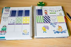 April Showers Free Printable Planner Stickers