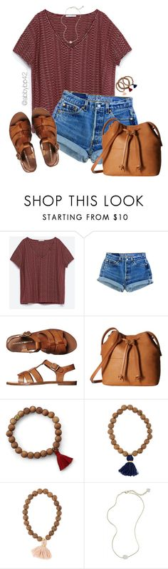 """start to see obstacles as opportunities🌞🌞"" by abbybp42 ❤ liked on Polyvore featuring Zara, Windsor Smith, ECCO, Kendra Scott and summertime"