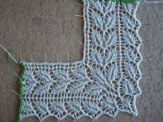 leaf lace edging