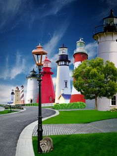 Unusual usual: Lighthouse street by Bart Verbiest, via Behance